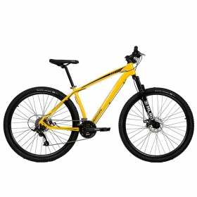 Bicicleta Aro 29 Mtb Redstone Nitro Alumínio 24v Amarelo