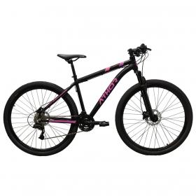 Bicicleta Athor Ultimate Mtb Aro 29 Atr 24v Preto Rosa