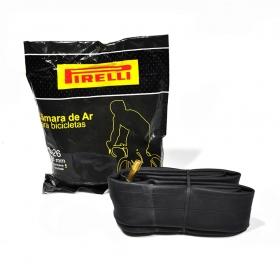 Câmara de Ar Pirelli Aro 26 Bico 48mm Válvula Americana
