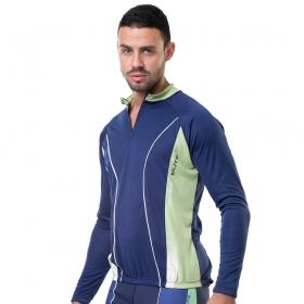 Camisa Blusa Elite Bike 125869 Masculina Ciclismo Marinho