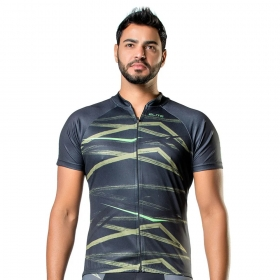 Camisa Blusa Elite Bike 135149 Masculina Ciclismo Preto