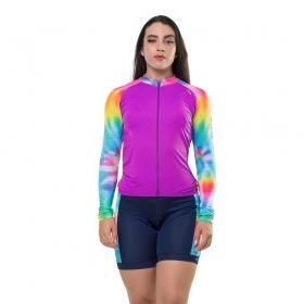 Camisa Elite Bike Ciclismo Mtb Feminina Pink 135175
