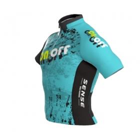Camisa Ert Sense New Elite On Off Aqua Fun Ciclismo Mtb 12.6