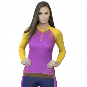 Camiseta Blusa Elite Bike 125944 Feminina Ciclismo Amarelo