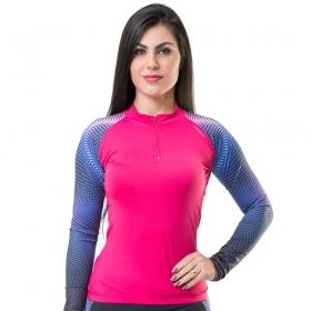 Camiseta Blusa Elite Bike 135002 Feminina Ciclismo Pink