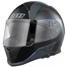 Capacete X11 Revo SV Integral Moto Motociclista Azul