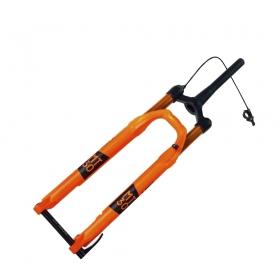 Garfo Suspensão Aro 29 Mastershock MT-30 Orange a Ar 15mm