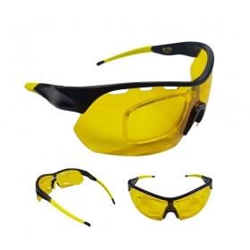 Óculos Ciclismo Mtb Jet Adventure Apache Polarizada Amarelo