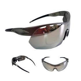Óculos Ciclismo Mtb Jet Adventure Apache Polarizada Cinza