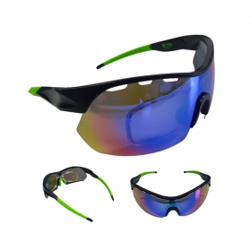 Óculos Ciclismo Mtb Jet Adventure Apache Polarizada Verde