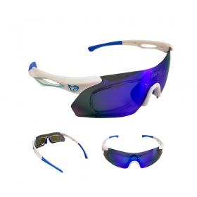 Óculos Ciclismo Mtb Jet Adventure Dragon Polarizada Azul