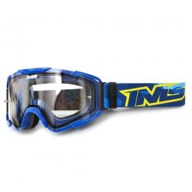 Óculos Motocross Ims Army Trilha Offroad Anti Risco Azul