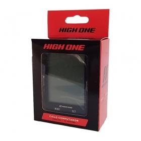 Velocímetro Ciclo Computador High One 20 Funções S/Fio