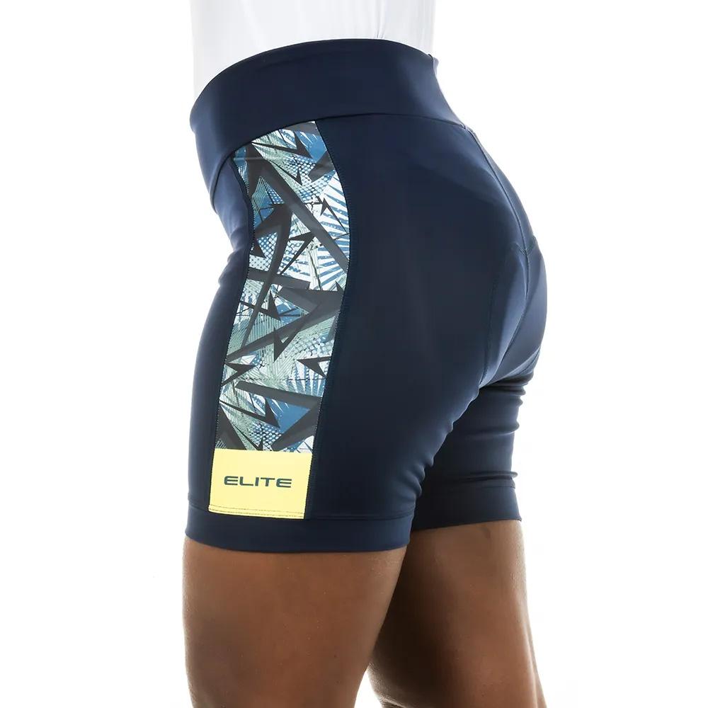 Bermuda Ciclismo Feminina Elite Bike 129072 Forro Ciclista