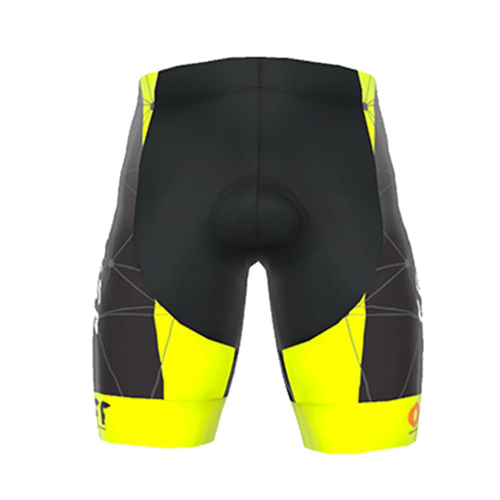 Bermuda Ert Sense Forro Gel On Off Ciclismo Mtb Amarelo 6.0