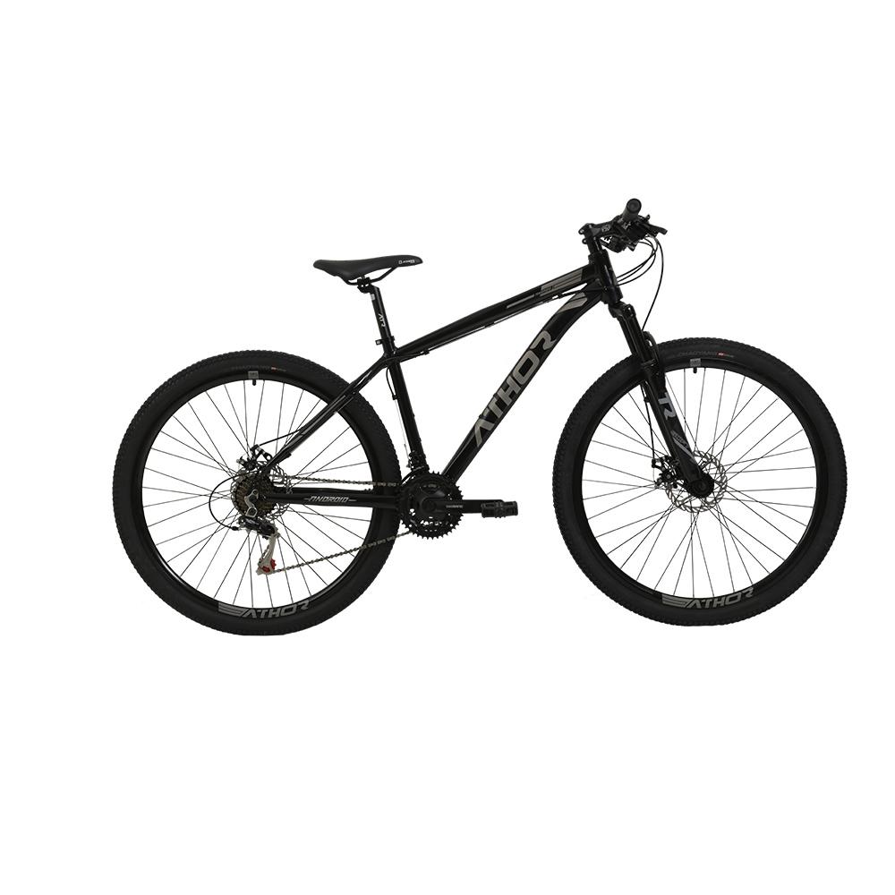 Bicicleta Aro 29 Mtb Athor Android Alumínio 21v Grafite