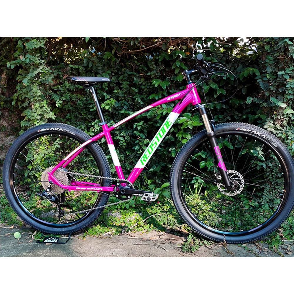Bicicleta Aro 29 Mtb Redstone Aquila Alumínio 11v Rosa