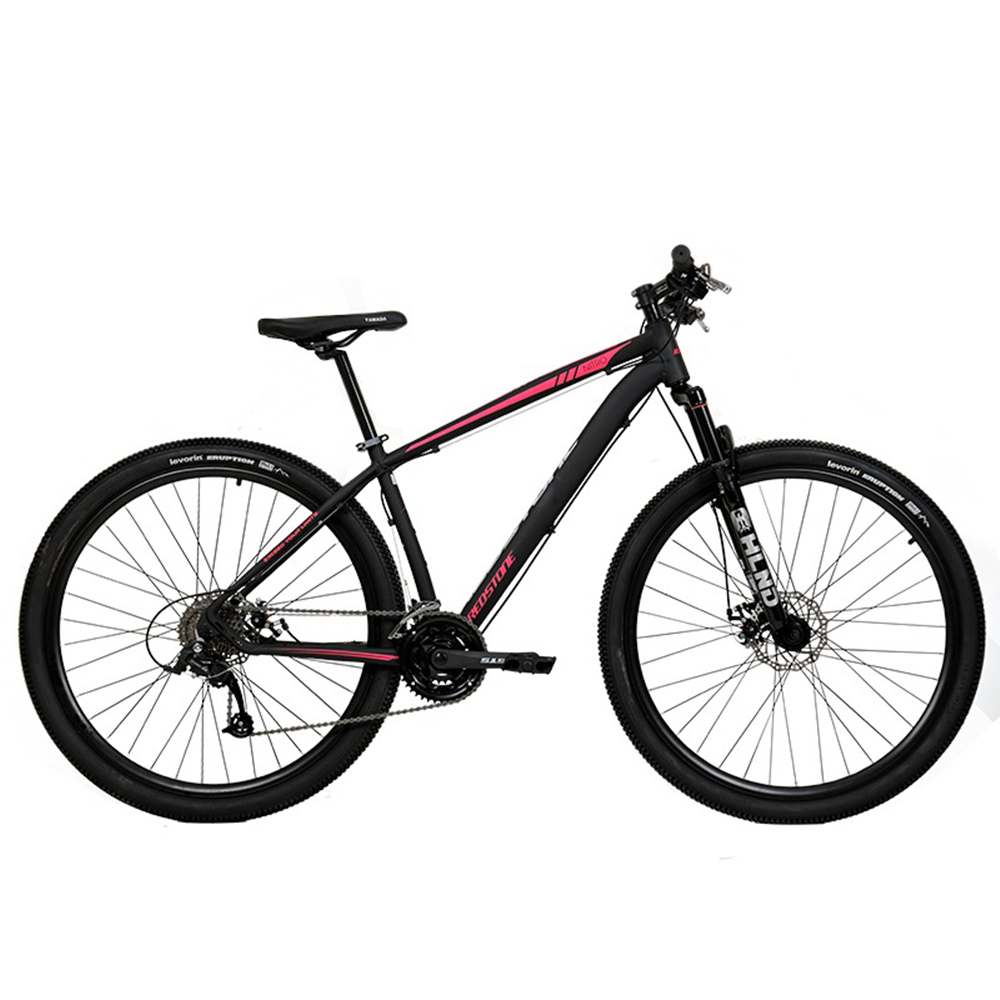 Bicicleta Aro 29 Mtb Redstone Nitro Alumínio 24v Preto Rosa