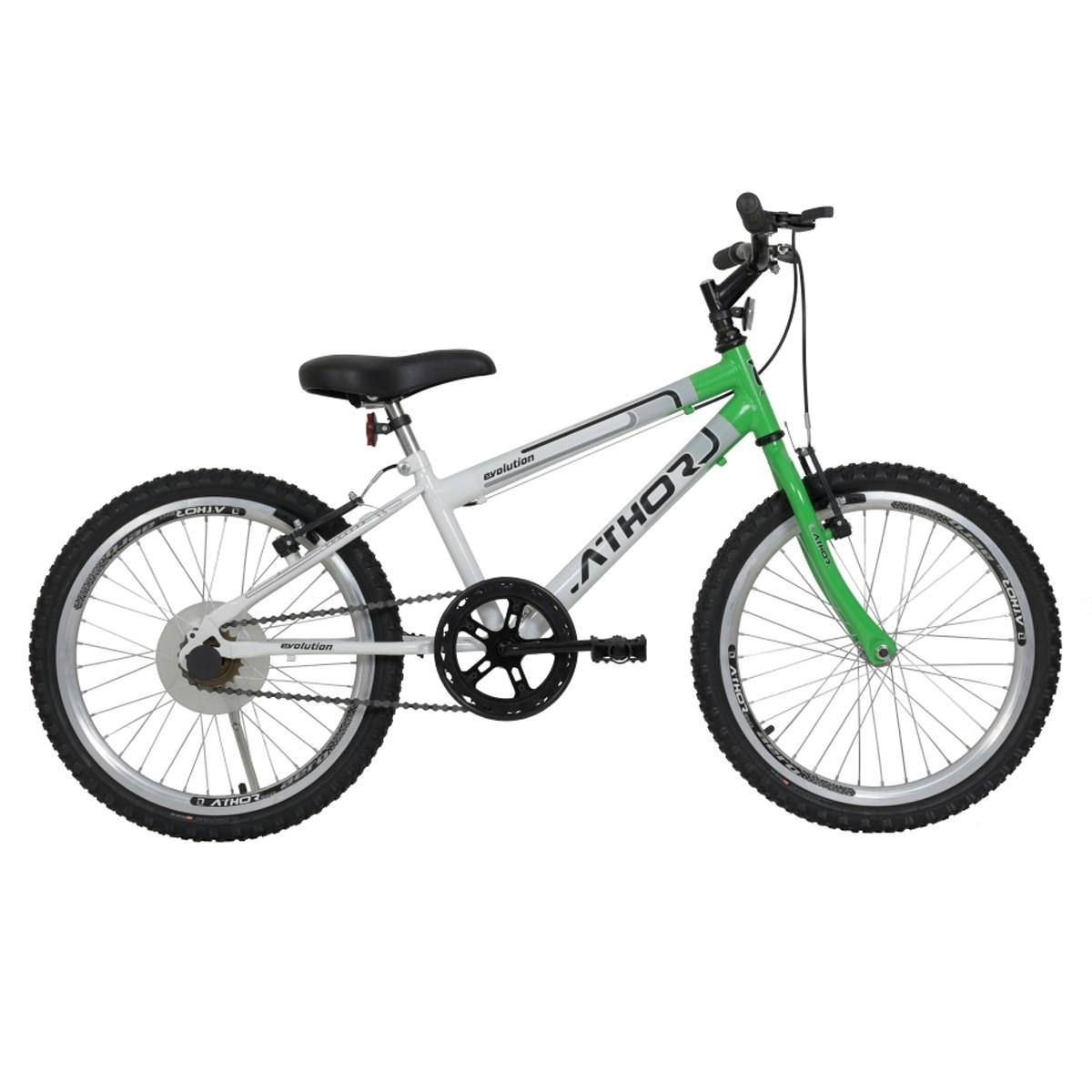 Bicicleta Athor Evolution Infantil Aro 20 Masculino S/Marcha