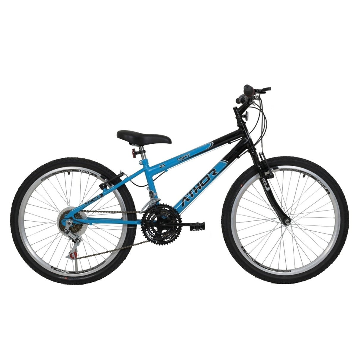 Bicicleta Athor Legacy Infantil Aro 24 18v Masculino