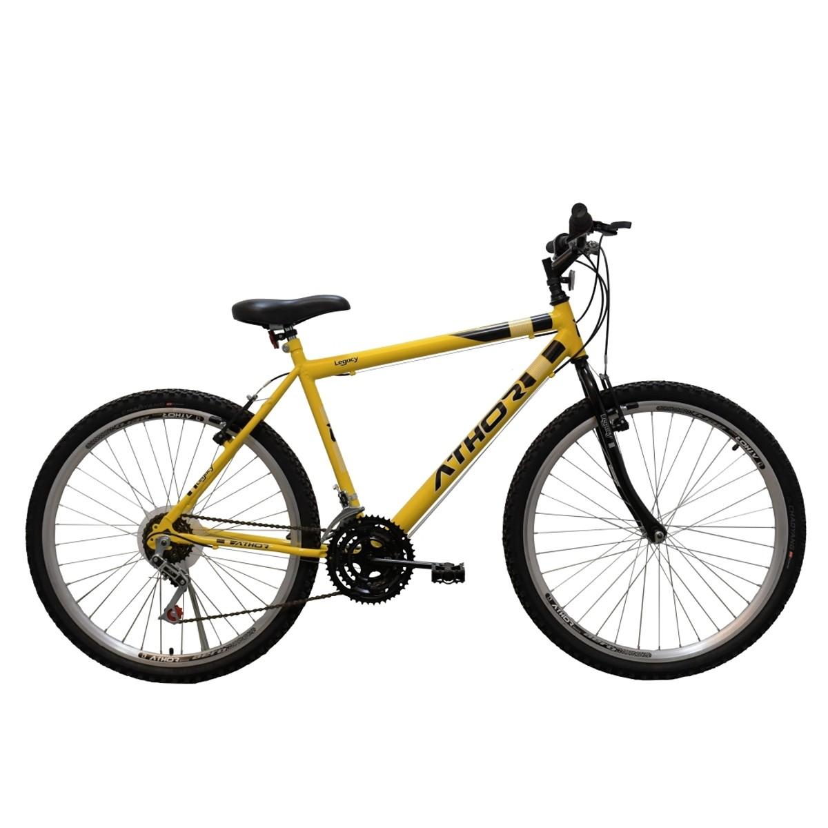 Bicicleta Athor Legacy Passeio Aro 26 18v Masculino