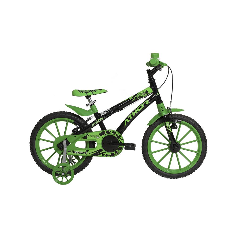 Bicicleta Infantil Aro 16 Athor Baby Lux A10 Masculina S/M