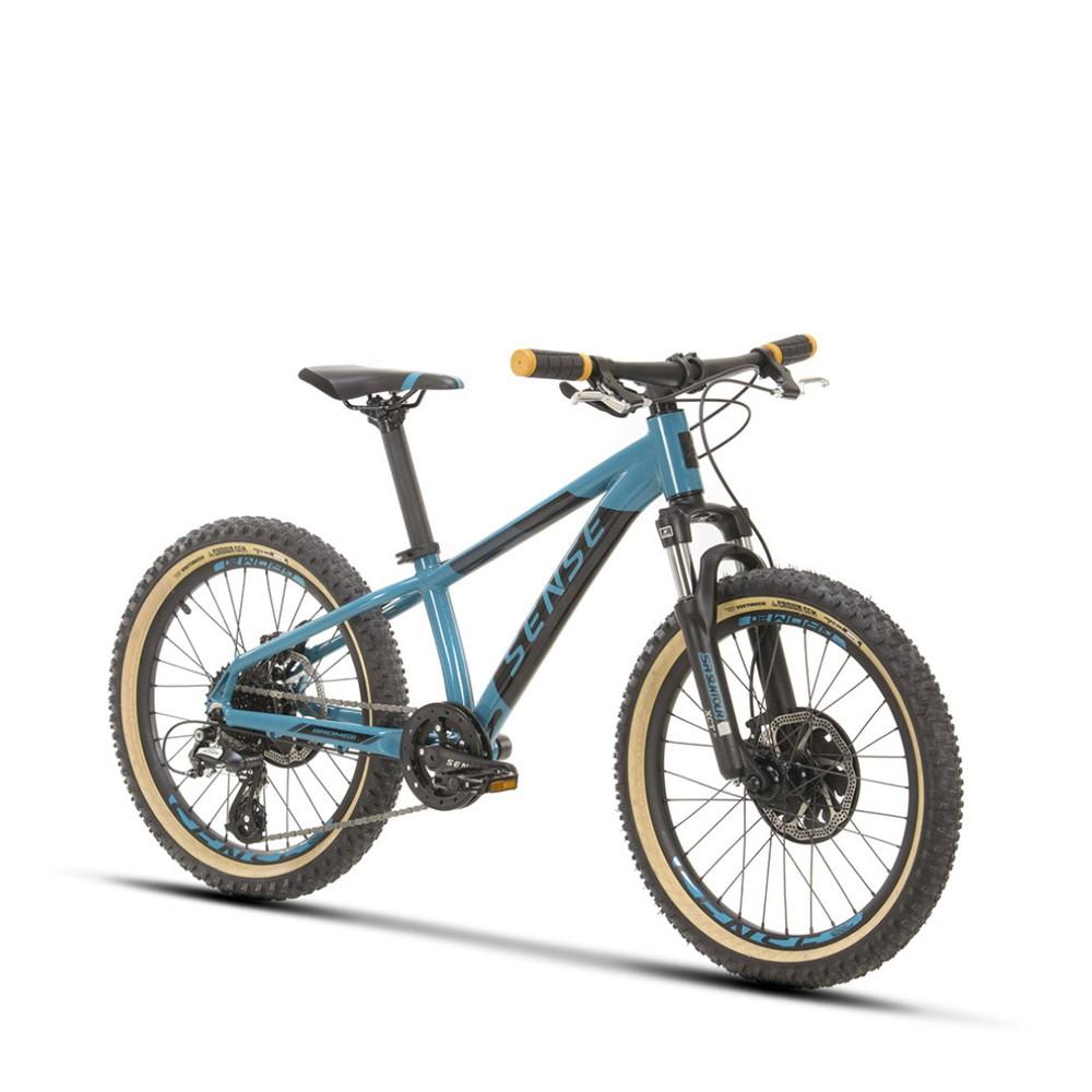 Bicicleta Sense Grom 2021/22 Infantil Mtb Aro 20 Aqua/Preto