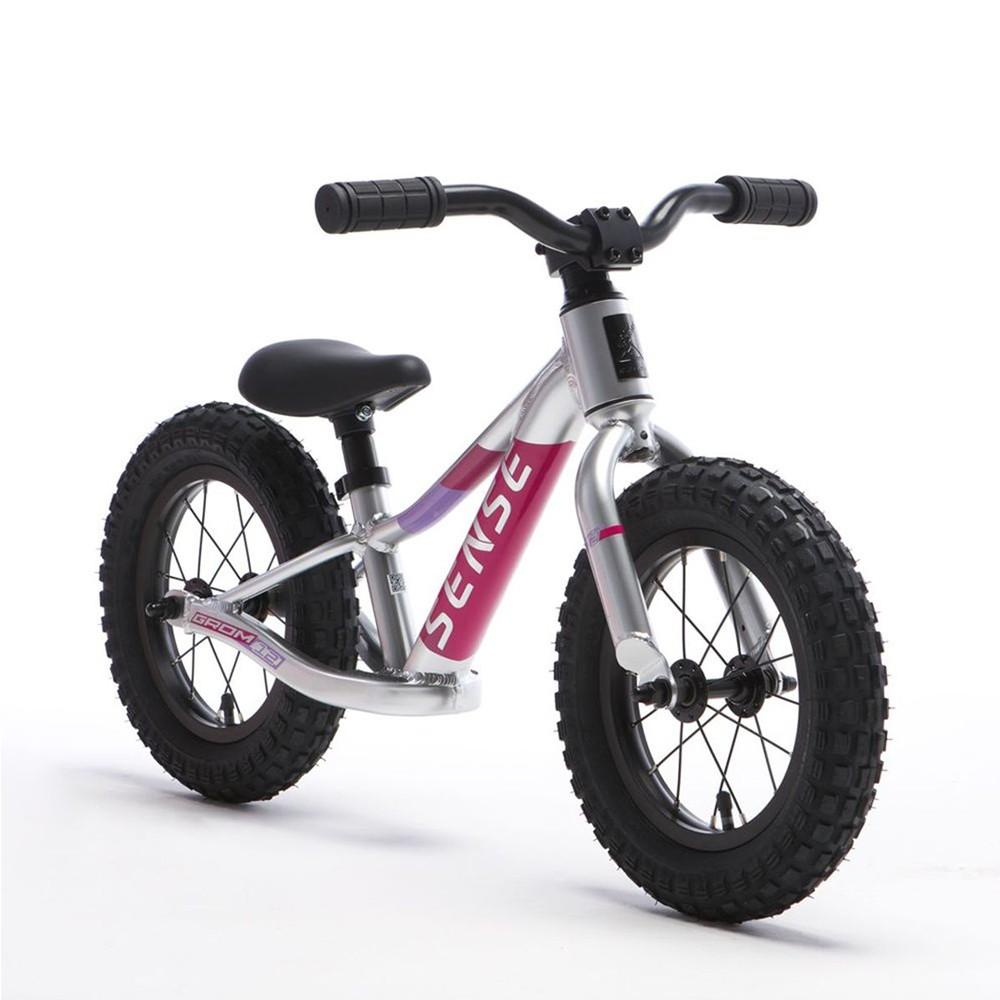 Bicicleta Sense Grom 2021 Infantil Equilibrio Aro 12 Rosa