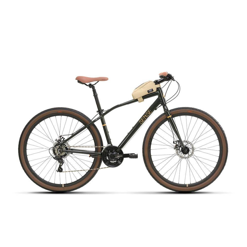 Bicicleta Sense Move Urban 2021/22 Urbana Aro 700 21v Verde
