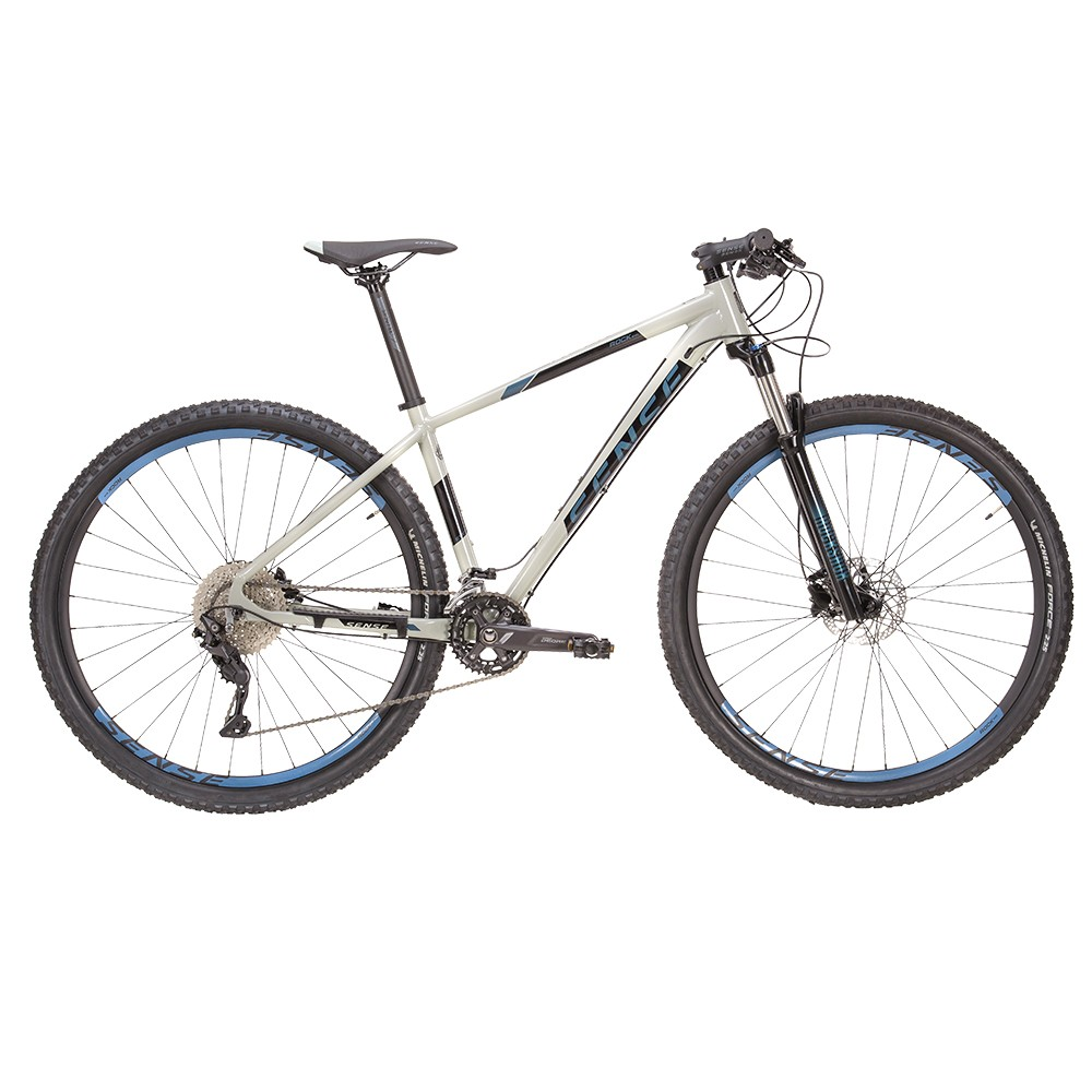 Bicicleta Sense Rock Evo 2021/22 Mtb Aro 29 Deore 20v Cinza