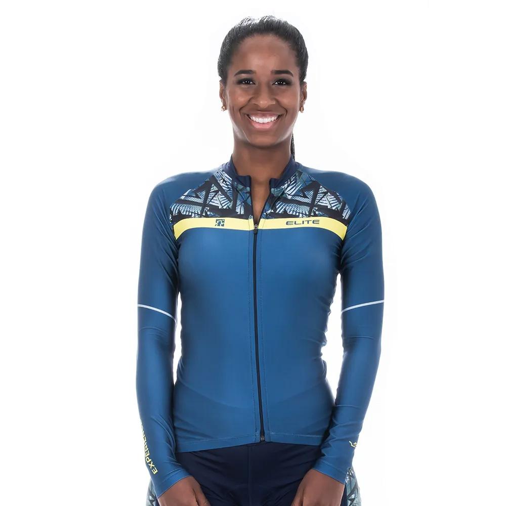 Camisa Ciclismo Feminina Manga Longa Elite Bike 135228 Mtb