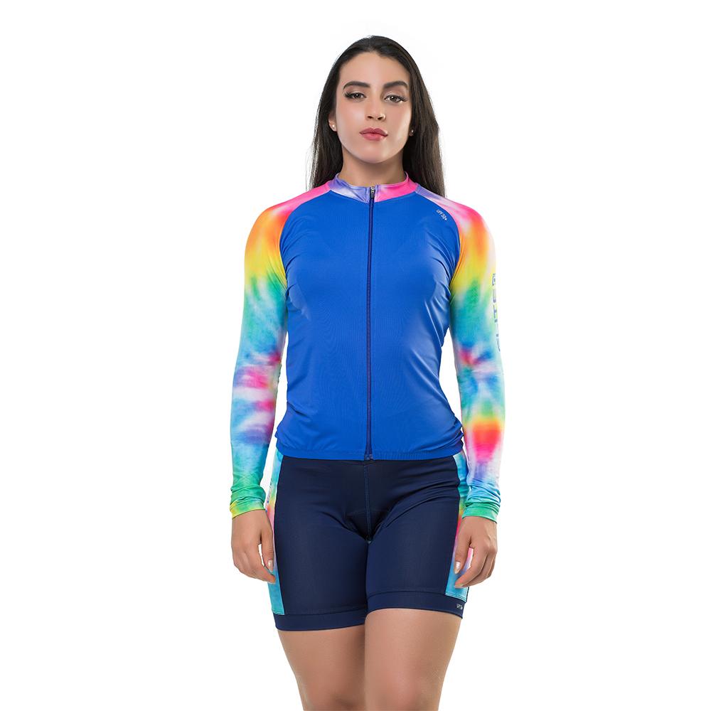 Camisa Elite Bike Ciclismo Mtb Feminina Royal 135175