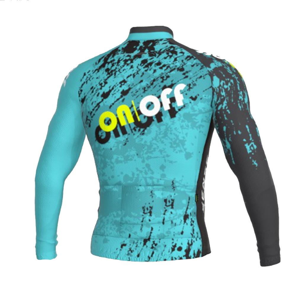 Camisa Ert Sense Manga Longa On Off Aqua Fun Ciclismo 1.2