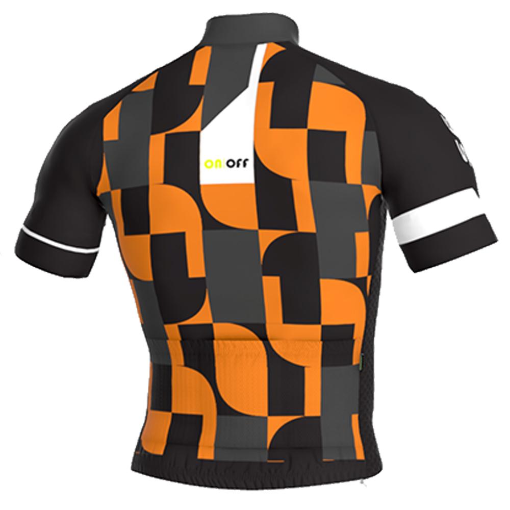 Camisa Ert Sense New Elite On Off Ciclismo Mtb Laranja 3.2
