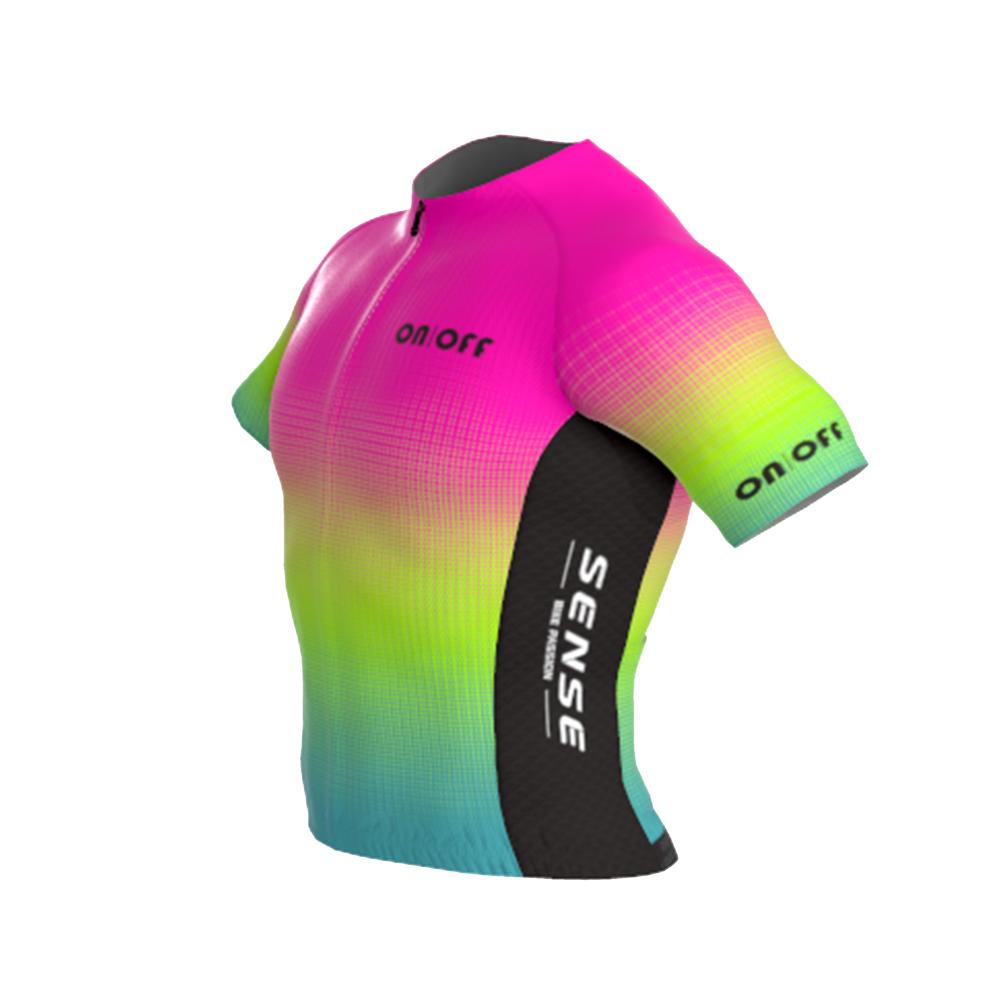 Camisa Ert Sense New Elite On Off Pink Fun Ciclismo Mtb 10.0