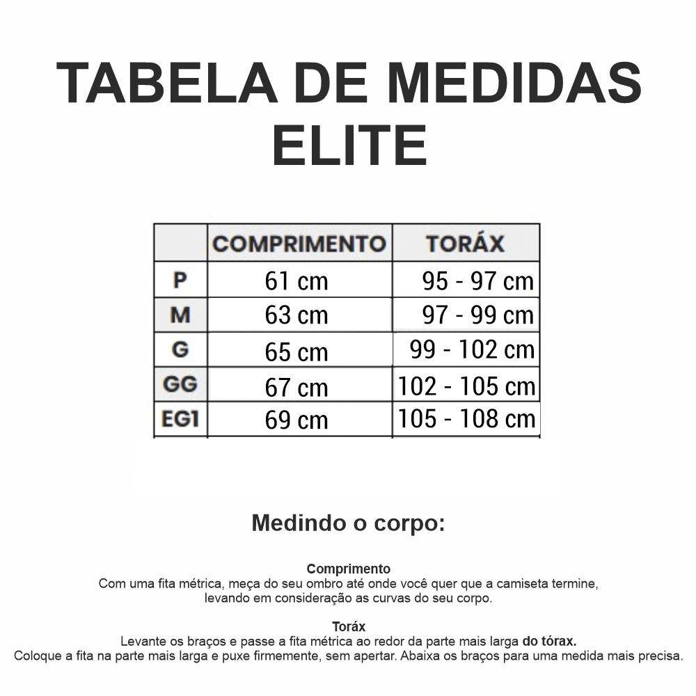 Camiseta Blusa Elite Bike 135142 Masculina Ciclismo Marinho