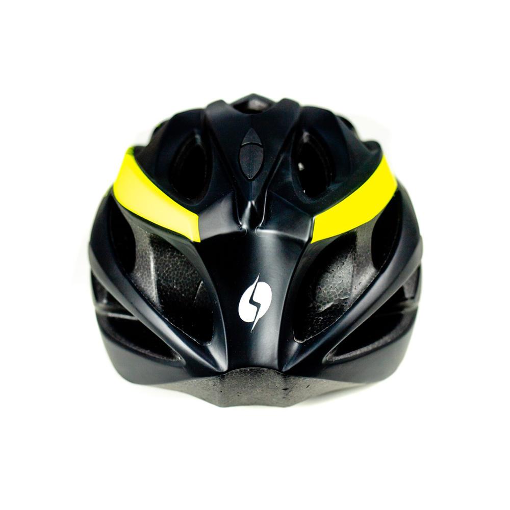 Capacete com Sinalizador Led Ciclismo Mtb Bike Shiver Win