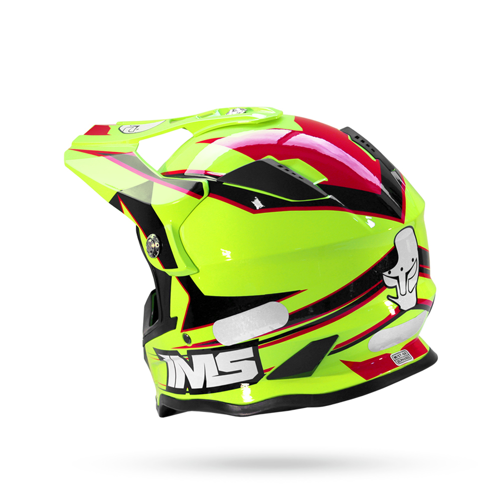 Capacete Motocross Ims Army 2021 Trilha Offroad Enduro Abs