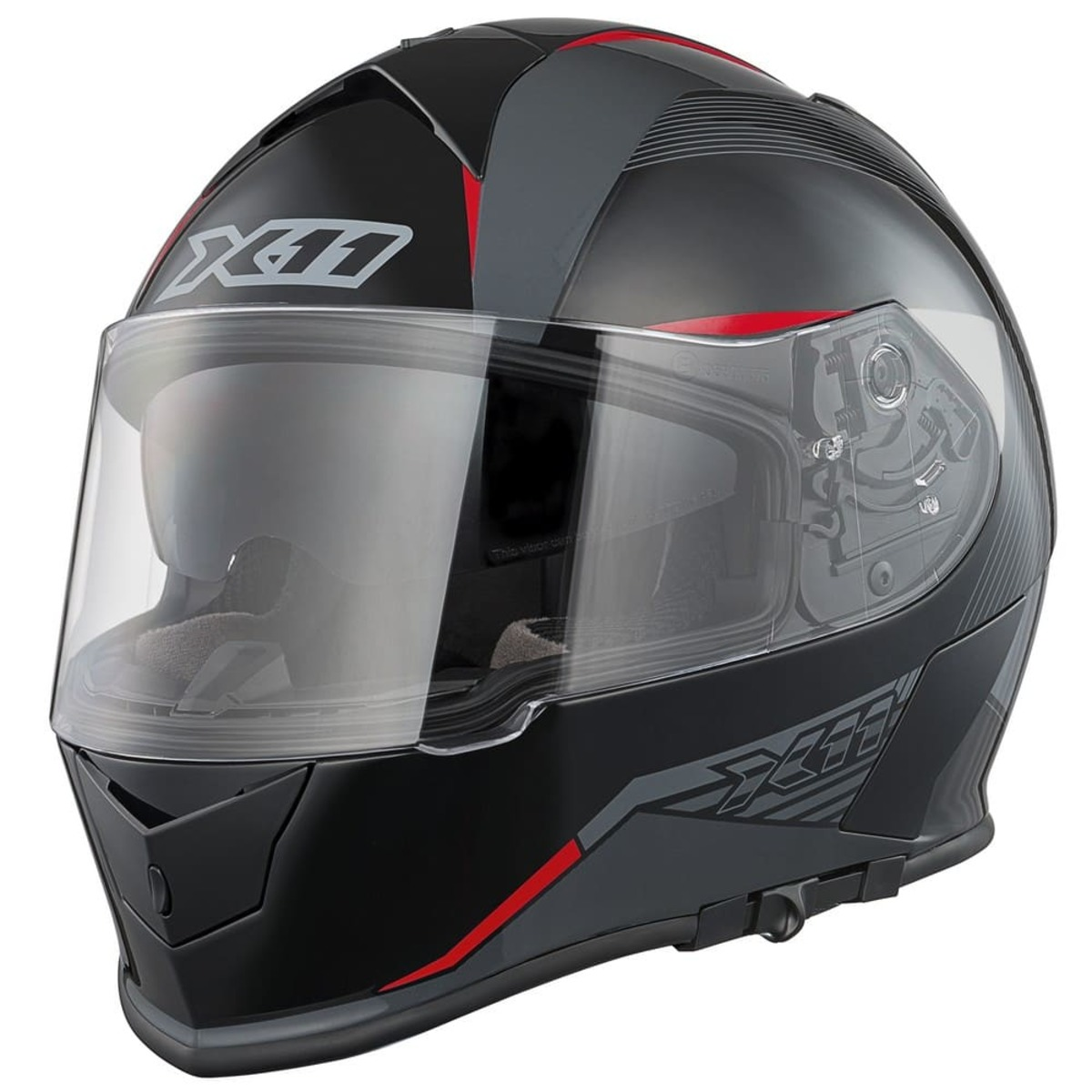 Capacete X11 Revo SV Integral Moto Motociclista Vermelho