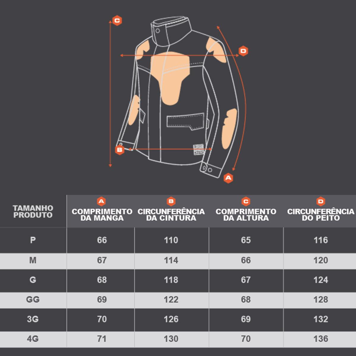 Jaqueta X11 Urban Pro Motociclista Moto Motoqueiro Proteção