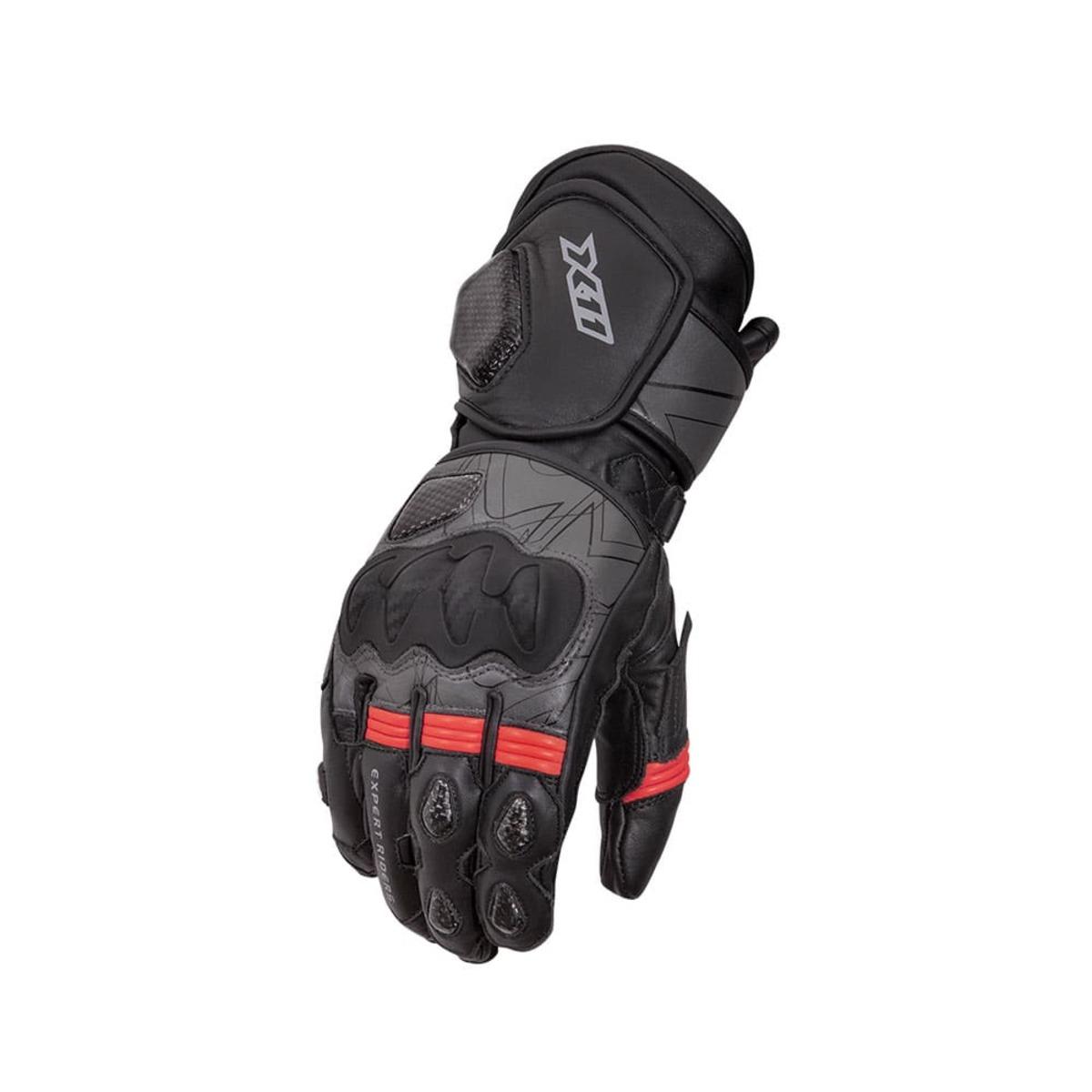 Luva X11 Racer 2 Motociclista Moto Proteção Preto