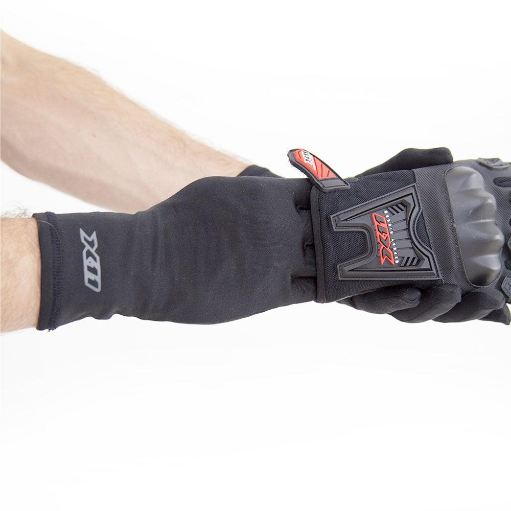 Luva X11 Thermic Moto Motociclista Proteção Solar Preto