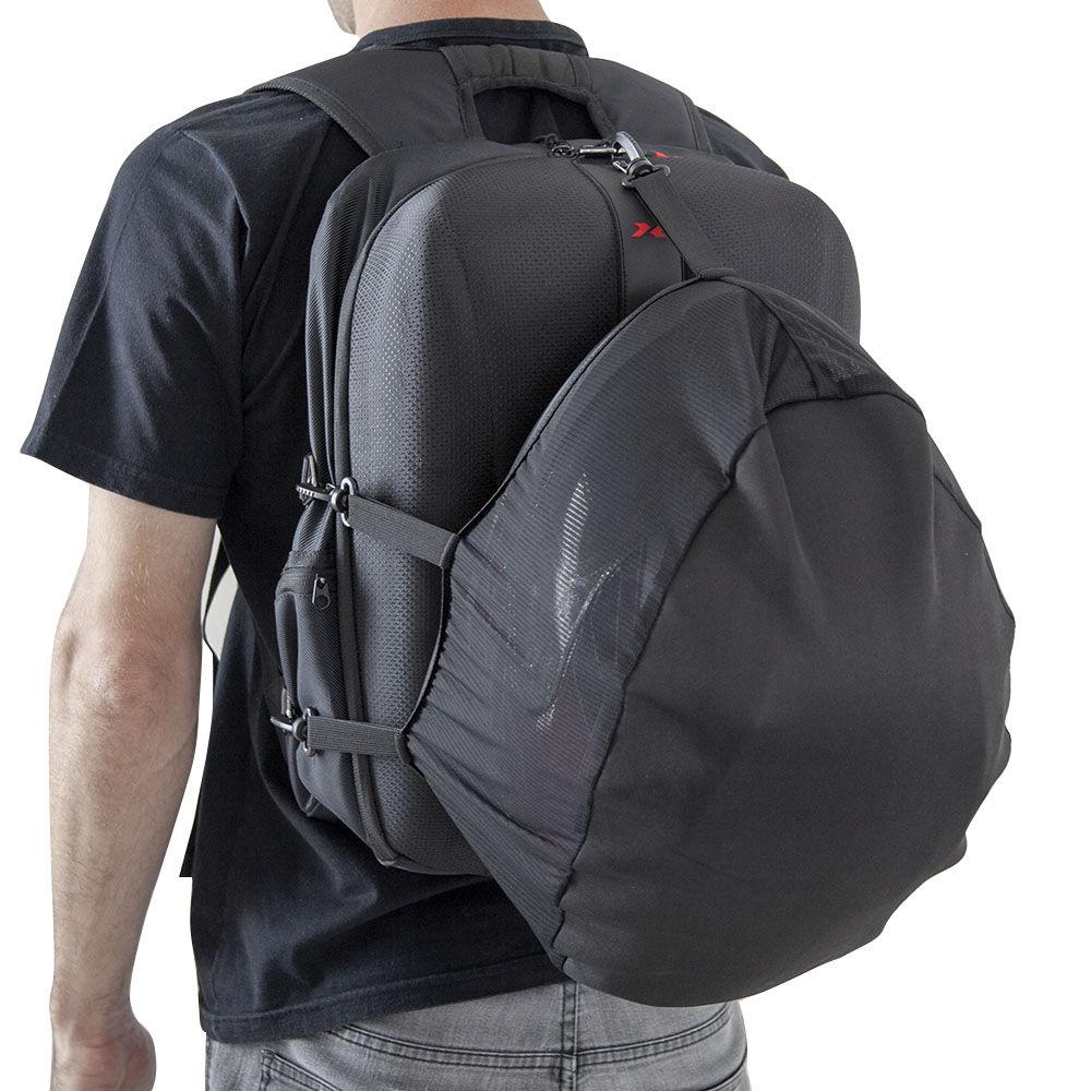 Mochila X11 Hard Case Motociclista Notebook Capa Impermeável