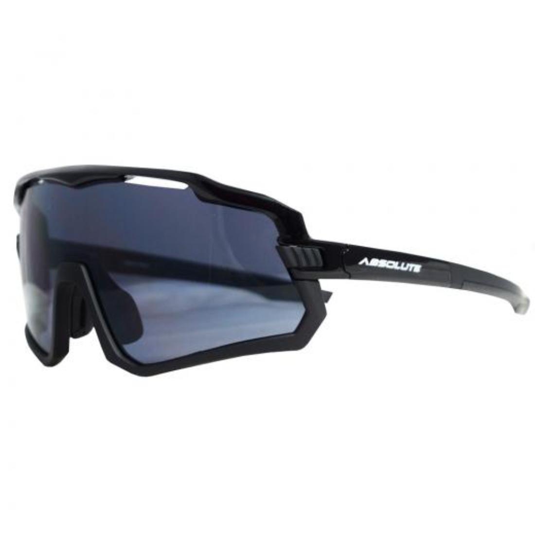Óculos Absolute Prime Wild Mtb Preto Lente Fume Anti Uv 400