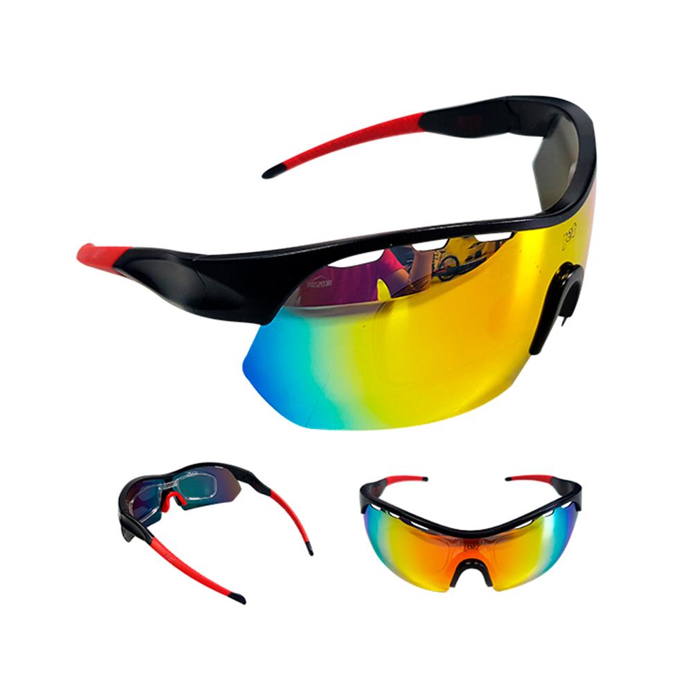 Óculos Ciclismo Mtb Jet Adventure Apache Polarizada Vermelho