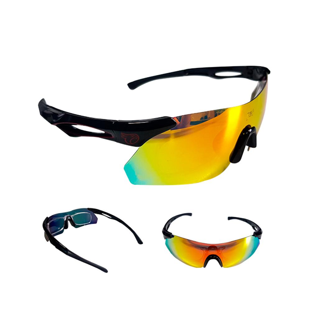 Óculos Ciclismo Mtb Jet Adventure Dragon Polarizada Preto