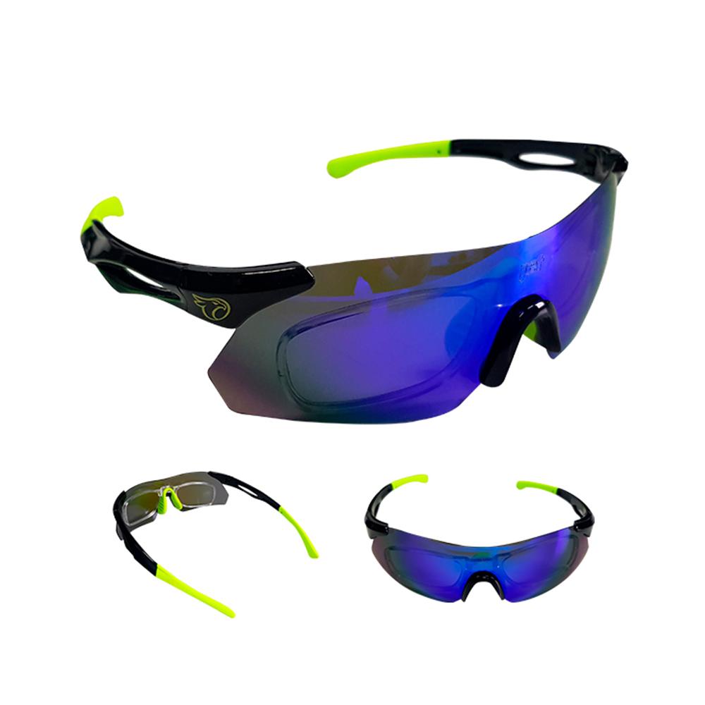 Óculos Ciclismo Mtb Jet Adventure Dragon Polarizada Verde