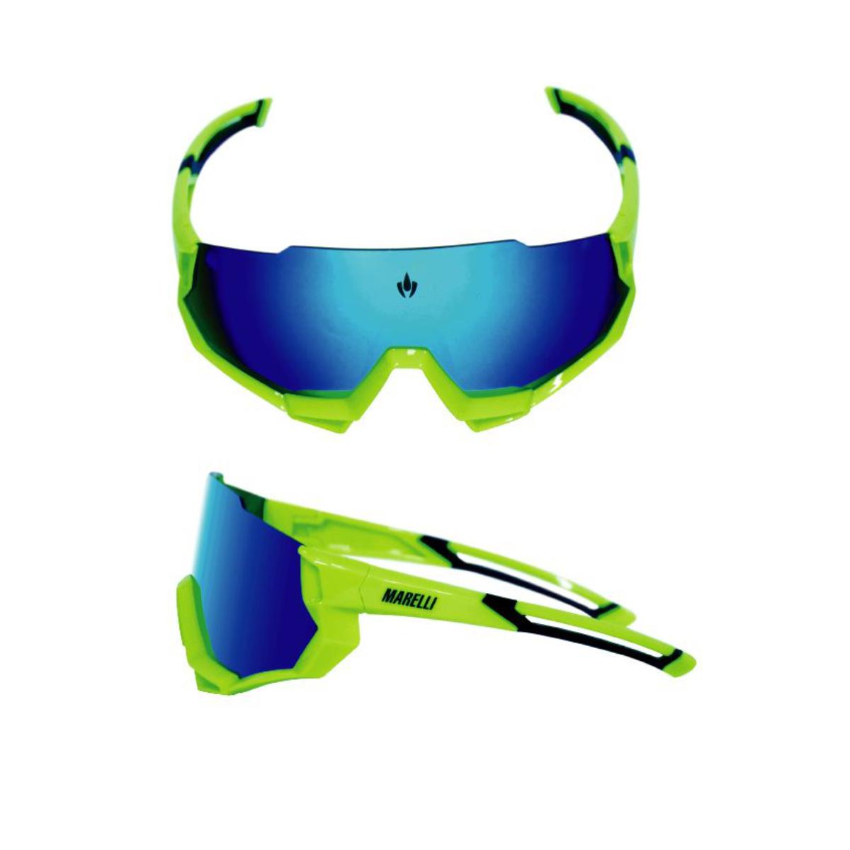 Óculos Marelli Cronos Uv400 Antirreflexo Mtb Ciclismo Bike