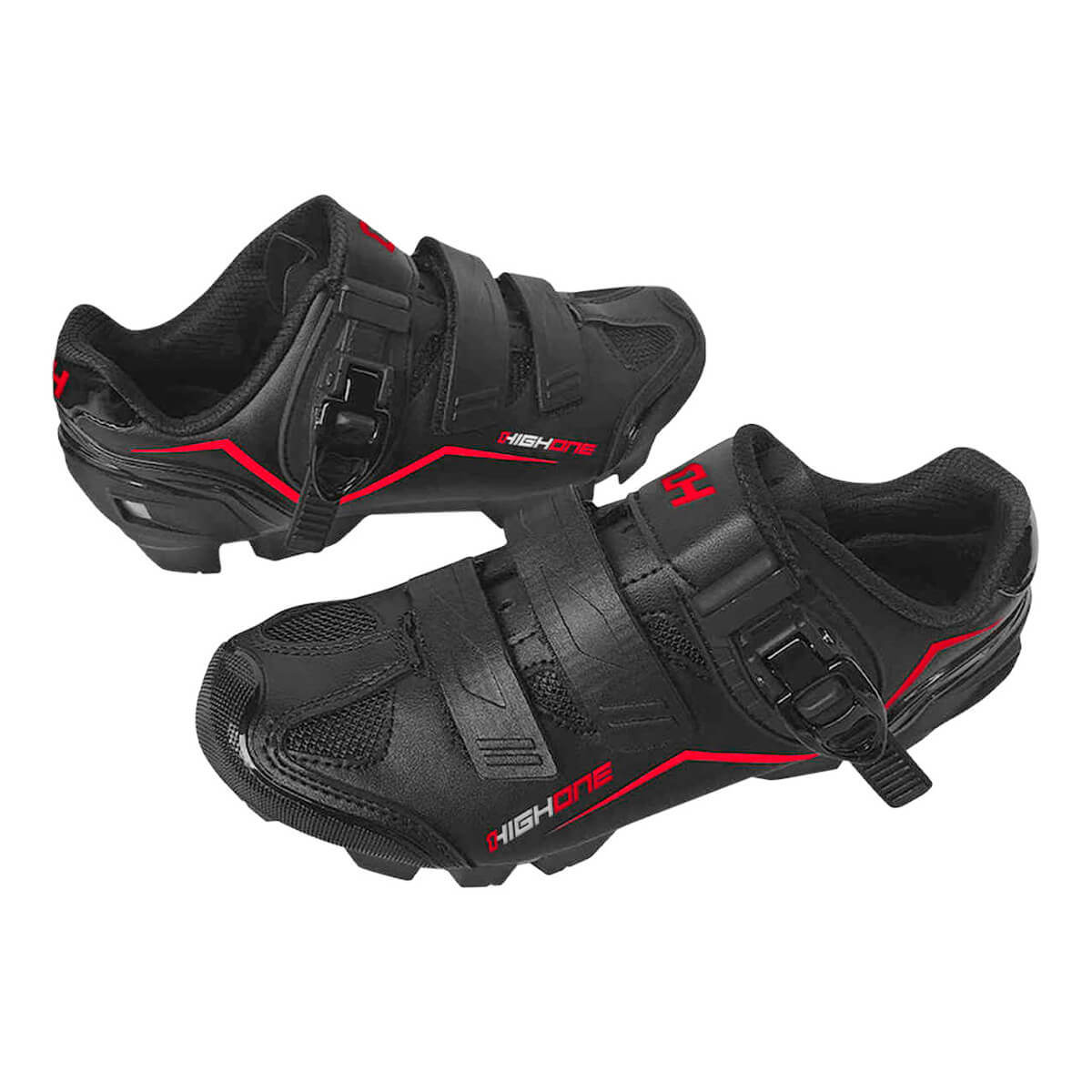 Sapatilha High One Feet Mtb Ciclismo Bike Vermelho