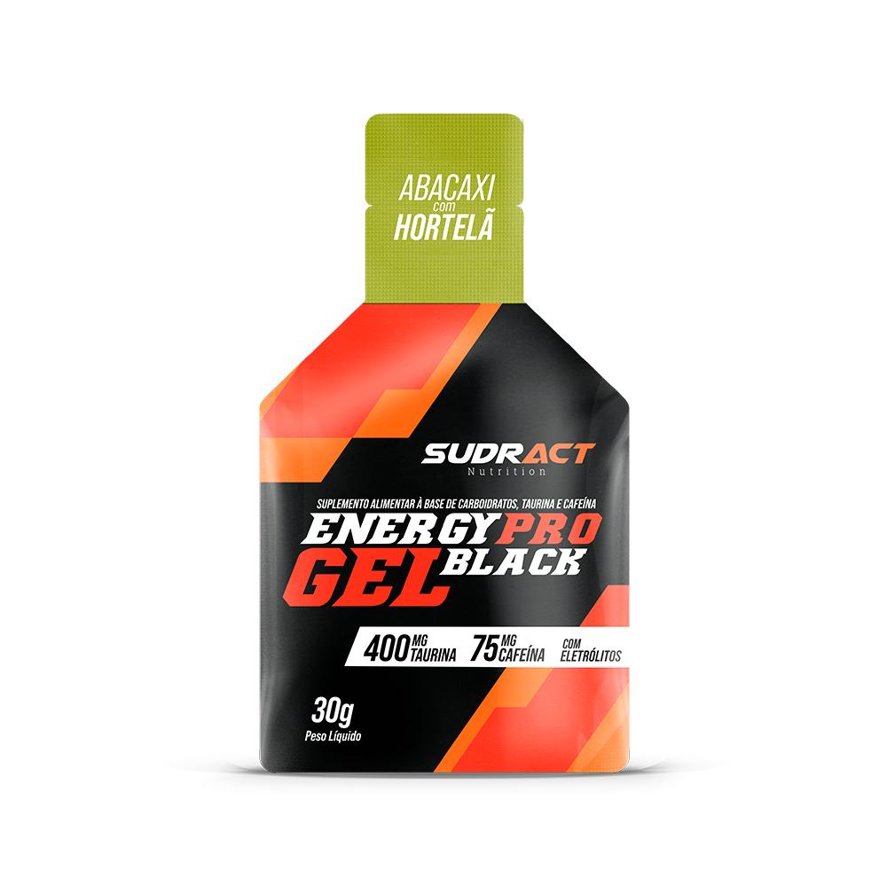 Suplemento Energético Sudract Energy Pro Gel Black 30g C/15